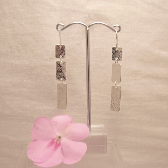 rectangle-triple-earrings
