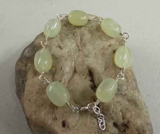 Chinese Jade Nugget Bracelet